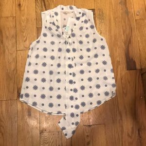Sleeveless blouse from Stitch Fix